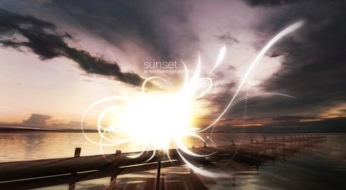 sunset 70 Tutorials For Learning And Mastering Light Effects In Photoshop