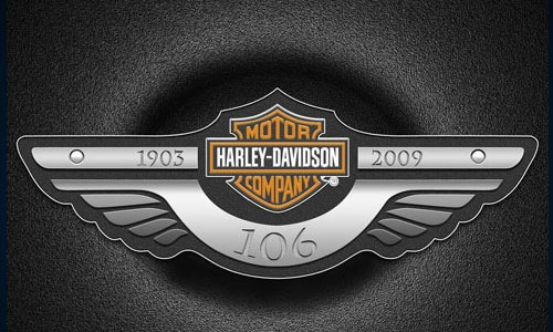harleydavidson 30 Design Tutorials For Recreating A Brands Logo Identity