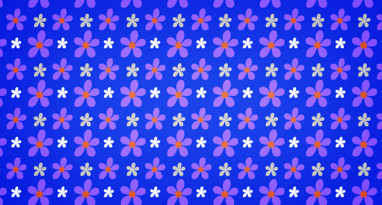 bluepattern Pink Petals Seamless Photoshop Pattern