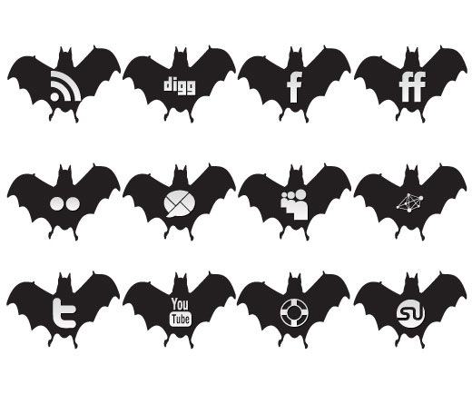 halloween Free Halloween Social Media Icon Set