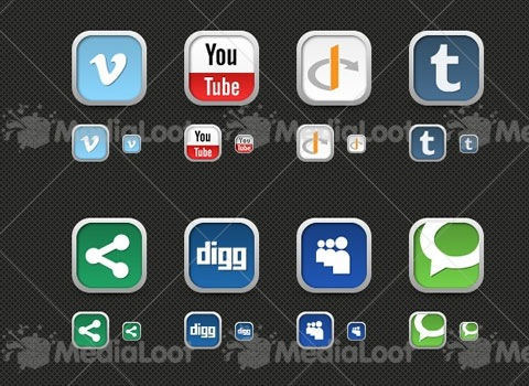 medialooticonset 50 Best Remarkable Icon Sets From 2010