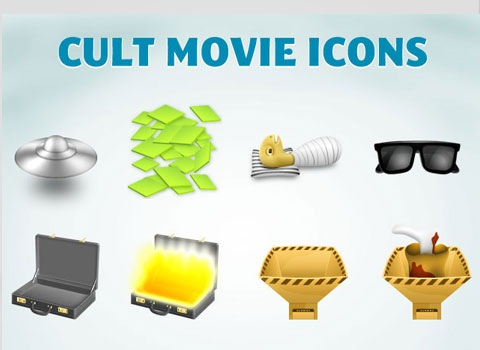 movieicons 50 Best Remarkable Icon Sets From 2010