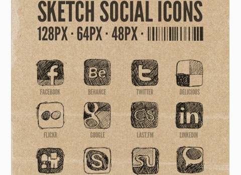 sketched 50 Best Remarkable Icon Sets From 2010