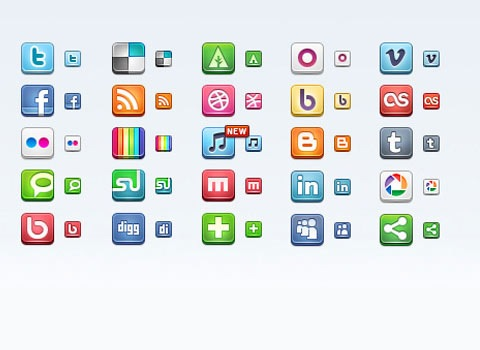 socialicons 50 Best Remarkable Icon Sets From 2010