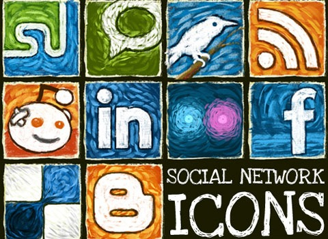 socialnetworkicons 50 Best Remarkable Icon Sets From 2010