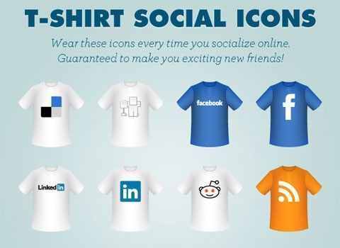 tshirticon 50 Best Remarkable Icon Sets From 2010