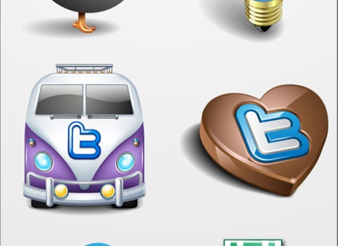 twitter 50 Best Remarkable Icon Sets From 2010