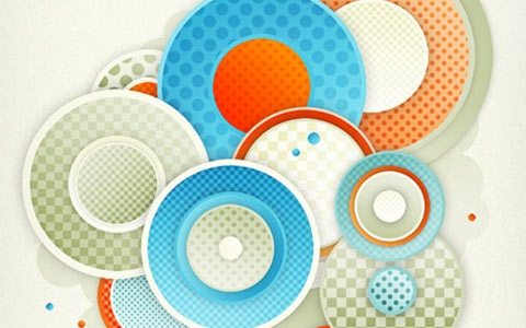 abstactpattern 100 Best Photoshop Design Tutorials From 2010