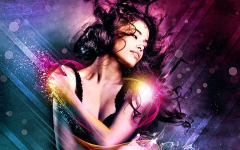 beatuifulwoman 100 Best Photoshop Design Tutorials From 2010