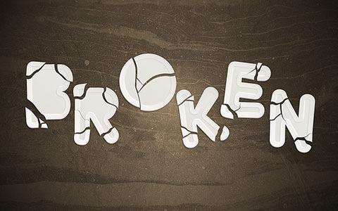 broken1 100 Best Photoshop Design Tutorials From 2010