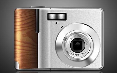 camerawooden 100 Best Photoshop Design Tutorials From 2010