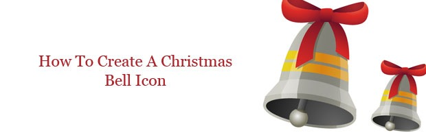 christmasbellicon How To Create Christmas Bell Using Illustrator