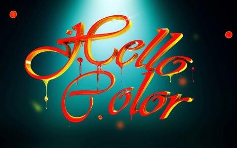 colorfulcandy 100 Best Photoshop Design Tutorials From 2010