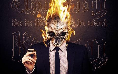 fireskull 100 Best Photoshop Design Tutorials From 2010