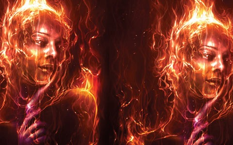 firewomen 100 Best Photoshop Design Tutorials From 2010