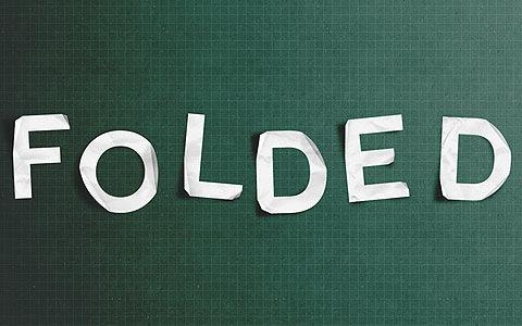 folded 100 Best Photoshop Design Tutorials From 2010