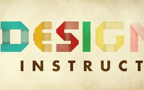 foldteext 100 Best Photoshop Design Tutorials From 2010
