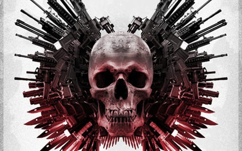 gunsandskull 100 Best Photoshop Design Tutorials From 2010
