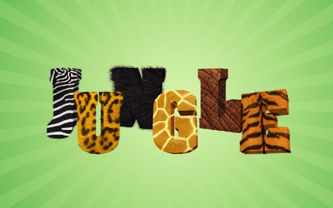 jungle 100 Best Photoshop Design Tutorials From 2010