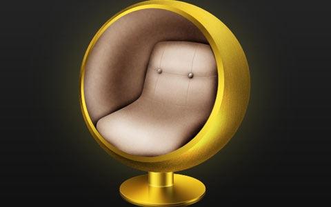 retomodernball 100 Best Photoshop Design Tutorials From 2010