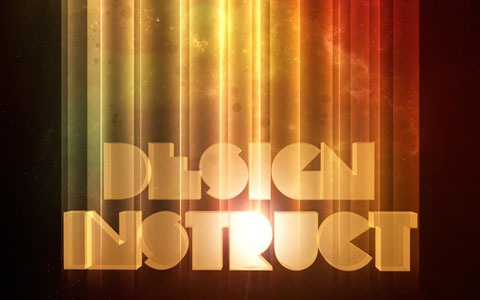 retro1 100 Best Photoshop Design Tutorials From 2010