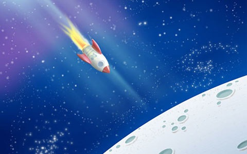 rocketillustration 100 Best Photoshop Design Tutorials From 2010