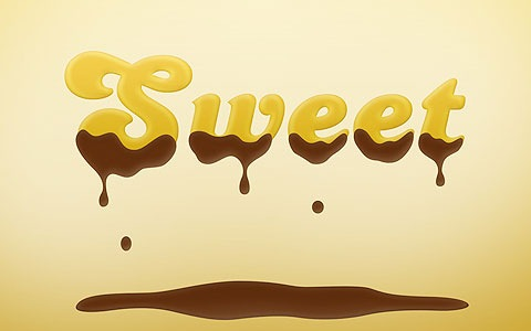 sweetchoclate 100 Best Photoshop Design Tutorials From 2010