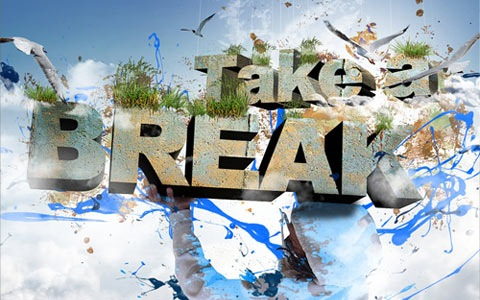 takeabreak 100 Best Photoshop Design Tutorials From 2010