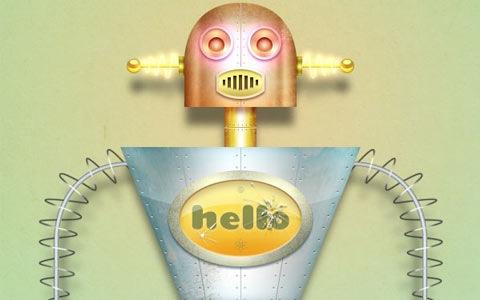 texturedrobots 100 Best Photoshop Design Tutorials From 2010