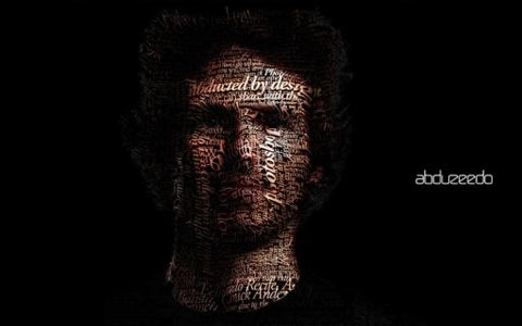 typographyportait 100 Best Photoshop Design Tutorials From 2010