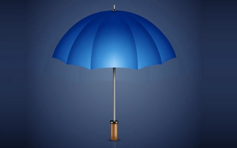 umbrella 100 Best Photoshop Design Tutorials From 2010