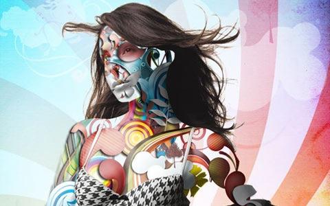 vectorillustratioportait 100 Best Photoshop Design Tutorials From 2010