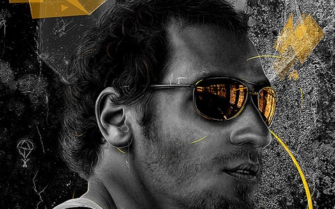 yellowglasses 100 Best Photoshop Design Tutorials From 2010