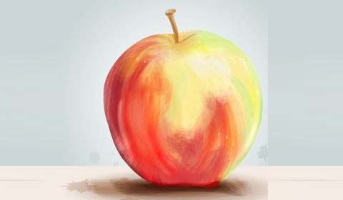 apple 50 Best Illustrator Design Tutorials From 2010
