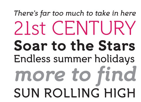 century 30 Top Best Free Fonts From 2010