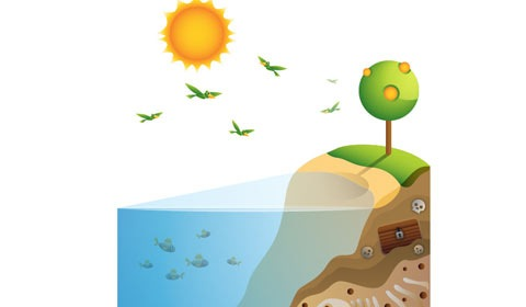 enviroment 50 Best Illustrator Design Tutorials From 2010