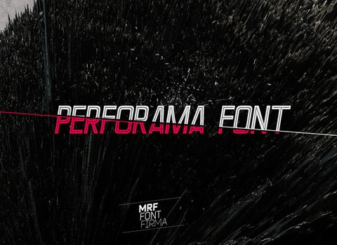 pefomafont 30 Top Best Free Fonts From 2010