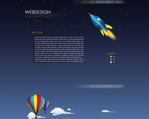 rocketwebdesign 20 Best Design Tutorials From 2010 To Create an Mind blowing Website