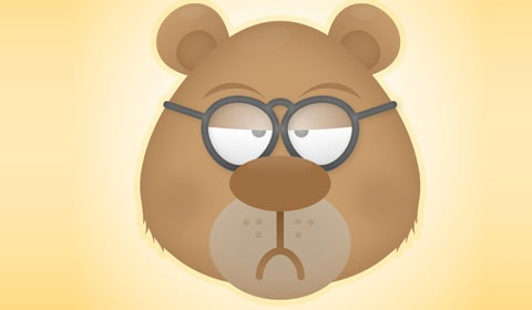 teddybear 50 Best Illustrator Design Tutorials From 2010