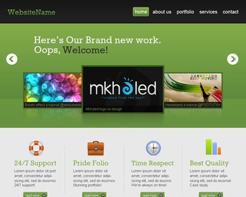 web2o 20 Best Design Tutorials From 2010 To Create an Mind blowing Website