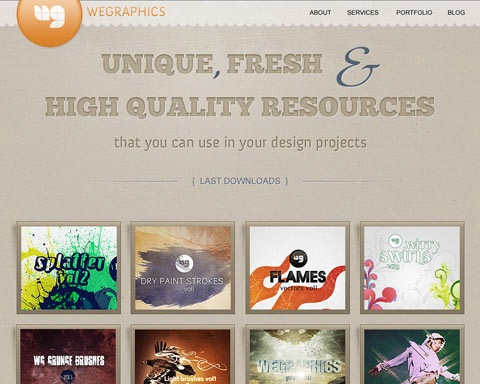 wegraphicsgrunge 20 Best Design Tutorials From 2010 To Create an Mind blowing Website