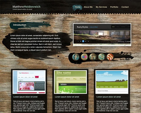 woodengrunge 20 Best Design Tutorials From 2010 To Create an Mind blowing Website