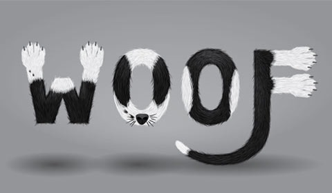 woof 50 Best Illustrator Design Tutorials From 2010