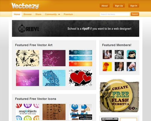 vecteezy 15 Best Sites For Finding Free High Quality Vector Graphics