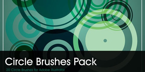 circlebrushpack 25 Best Illustrator Brushes All In One Place