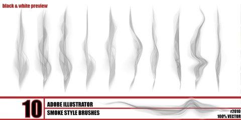 smoke-style-brushes