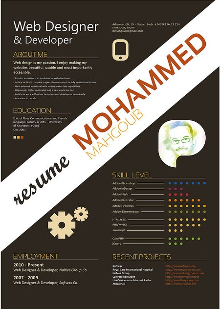 Cv Designs  Creative Resume Designs
