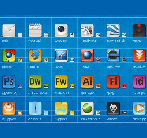 appicons 50 Of The Best Free Icon Sets From 2011