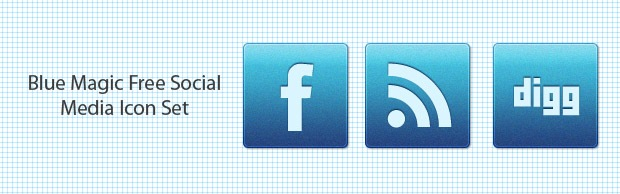 bluemagibanner Blue Magic An Awesome Free Social Media Icon Set