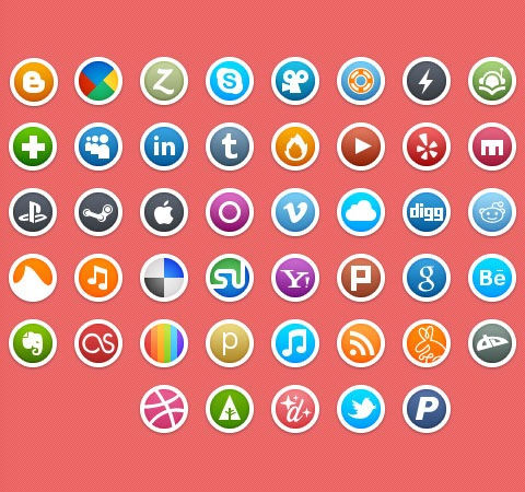 circleicons 50 Of The Best Free Icon Sets From 2011